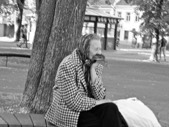 Kerchief, Vilnius, June 2012