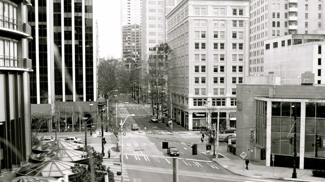 To a Stop (II), Seattle, 2013